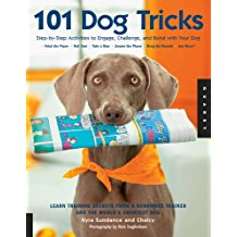 Dog tricks training book